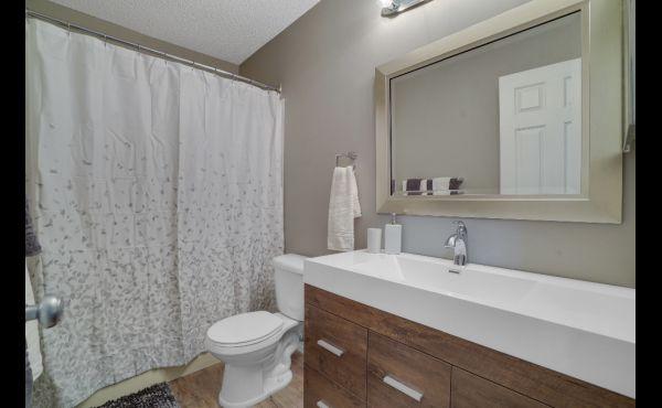 Main bathroom - new vanities in all bathrooms